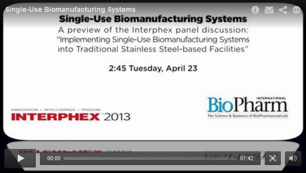 <p>Pharmaceutical Technology Podcast: Implementing Single-Use Biomanufacturing Systems </p>