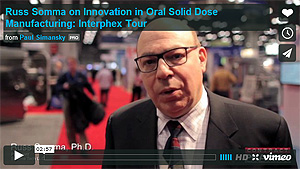 <p>OSD Expert, Russ Somma, PhD, Offers Insight on OSD Manufacturing Innovation </p>