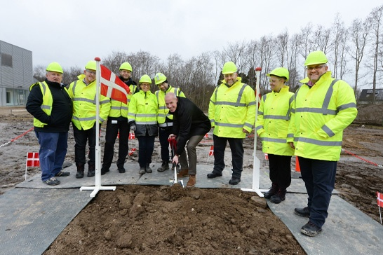 Bavarian Nordic Fill Finish Facility for Live Viral Vaccines Groundbreaking