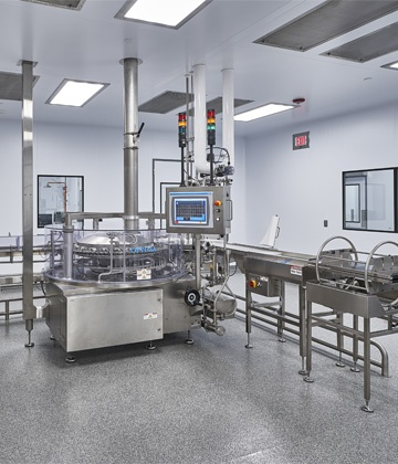 Advanced Aseptic Manufacturing Suite