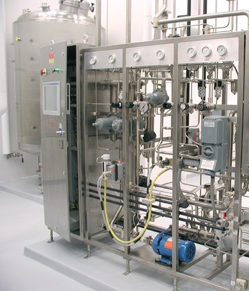 CGMP Mammalian Cell Culture Bioproduction Facility